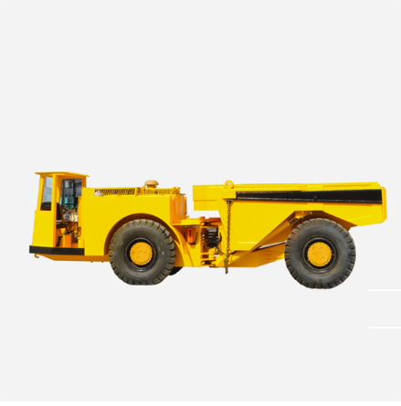 What are the precautions for underground dump truck?