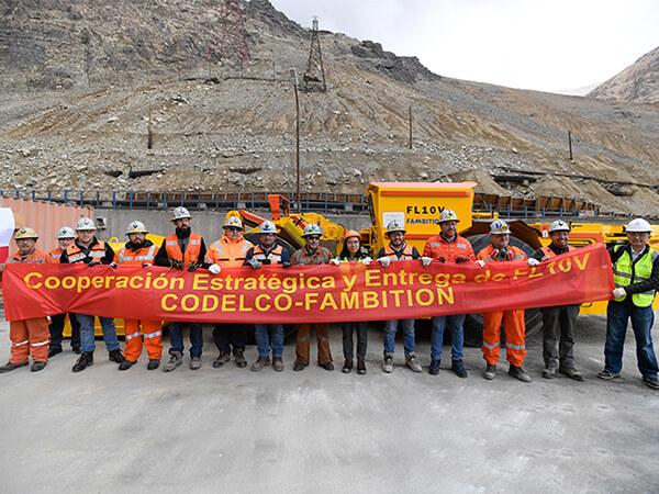 Chile national copper mine